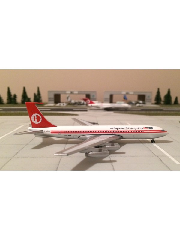 AEROCLASSICS 1:400 MALAYSIAN AIRLINE SYSTEM BOEING 707